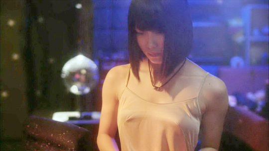 【TVキャプ画像】最近ブームの乳首透けファッション、女子アナがやったらあかんでしょwwガッツリ透けててワロタwwwwwww・7枚目
