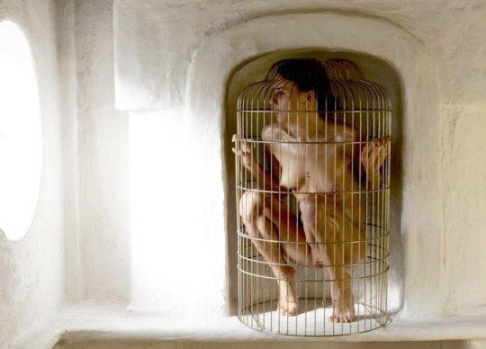 """【マジキチ】海外の監禁マニアが生み出した""""鳥籠監禁""""というプレイwwwwwwwwwwwwwwwwwww(画像30枚)・9枚目"""