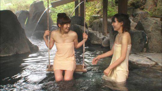 【BPO事案】バスタオル一枚での温泉レポ、タオルが浮いて下半身が大惨事にwwwwwwwwwwwwww(画像30枚)・23枚目