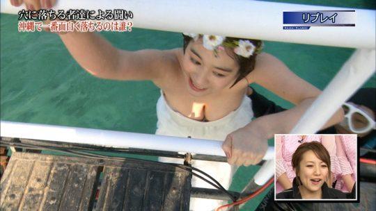 """【ポロリ事故】""""みなさんのおかげでした""""の筧美和子、ドレス落ち芸で乳輪を晒してしまうポロリハプニングwwwwwwwww(画像あり)・40枚目"""