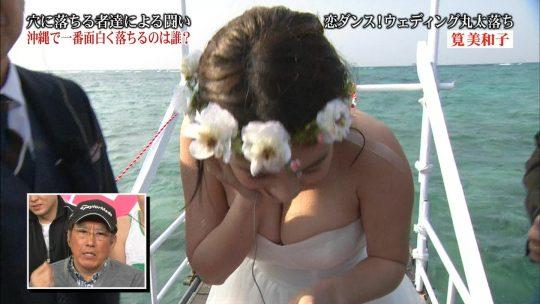 """【ポロリ事故】""""みなさんのおかげでした""""の筧美和子、ドレス落ち芸で乳輪を晒してしまうポロリハプニングwwwwwwwww(画像あり)・44枚目"""