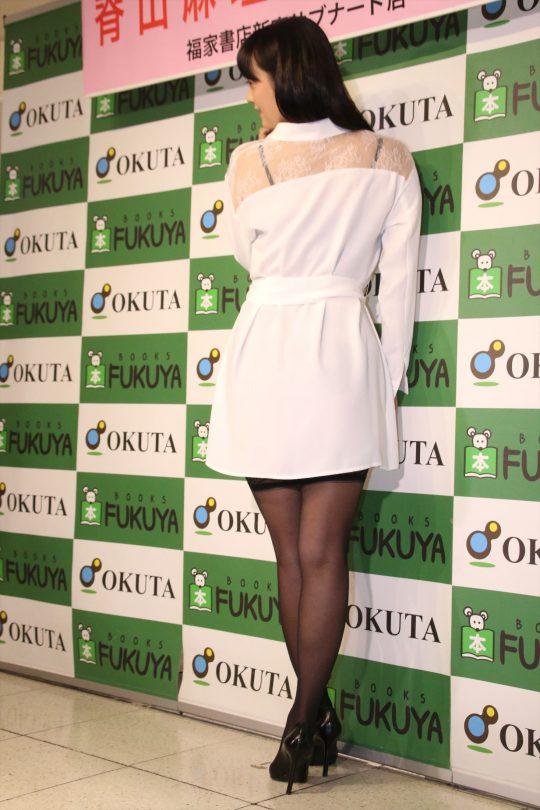 【ガイジ】元女子アナの脊山麻理子さん、とんでもない下着姿でイベントに登場するwwwwwwwwwwww(画像多数)・12枚目