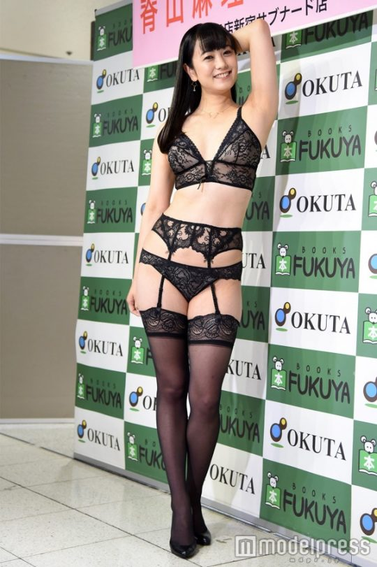 【ガイジ】元女子アナの脊山麻理子さん、とんでもない下着姿でイベントに登場するwwwwwwwwwwww(画像多数)・22枚目
