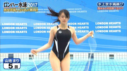 """【ドテマンGIFあり】『ロンハー水泳2017』有村架純の姉""""有村藍里""""が盛大にやらかすwwwwwwwwwwwwwwwwwwwwwww・36枚目"""