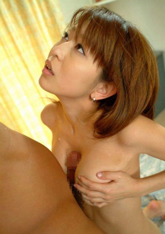 【涙ぐましい努力】挟めなくても擦り付ける、日本人まんさんパイズリの8割が実はコレという現実・・・・・(画像30枚)・4枚目
