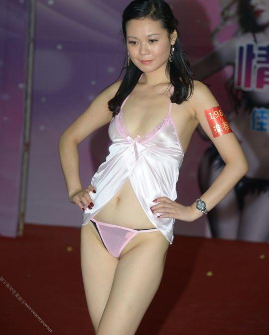 【土人文化】中国人の下着ファッションショー、マン毛処理の概念が無かった結果wwwwwwwwwwwwwwwww(画像30枚)・11枚目