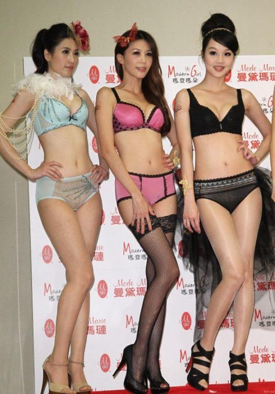 【土人文化】中国人の下着ファッションショー、マン毛処理の概念が無かった結果wwwwwwwwwwwwwwwww(画像30枚)・13枚目