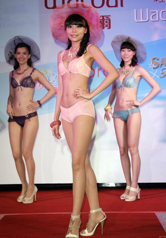 【土人文化】中国人の下着ファッションショー、マン毛処理の概念が無かった結果wwwwwwwwwwwwwwwww(画像30枚)・30枚目