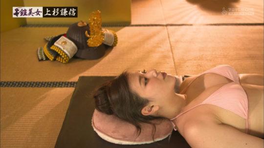 """【鎧グラビア】CSフジの迷走企画""""鎧美女""""、これもう裸に甲冑着せてりゃよくね???(画像あり)・35枚目"""