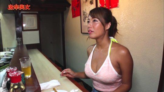 """【有能】CSフジの超有能企画""""激辛美女""""、美女が汗だくで麻婆豆腐をかっ込むとかいう神企画の様子wwwwwwwwwwwwwwww(画像多数)・10枚目"""