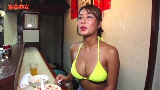 """【有能】CSフジの超有能企画""""激辛美女""""、美女が汗だくで麻婆豆腐をかっ込むとかいう神企画の様子wwwwwwwwwwwwwwww(画像多数)・34枚目"""
