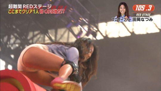 【KUNOICHI2017夏】女版SASUKEパイプホールドで今年もおっぱい祭りキタ――(゚∀゚)――!!(画像多数)・21枚目