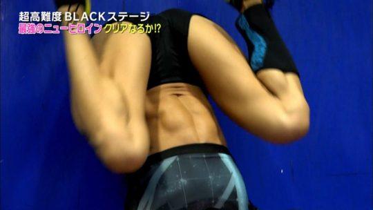 【KUNOICHI2017夏】女版SASUKEパイプホールドで今年もおっぱい祭りキタ――(゚∀゚)――!!(画像多数)・42枚目