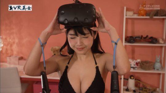 """【有能エロ企画】CSフジ鎧美女スピンオフ企画""""VR美女""""、もはやVRも美女も企画に全く関係ないただのエロ企画でワロタwwwwwwwwwww(画像多数)・32枚目"""