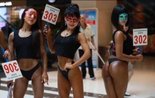 【圧倒的美尻】中国遼寧省のショッピングモールで開催された美尻コンテスト、302番の尻が圧倒的過ぎてワロタwwwwwwwwww(画像あり)・7枚目