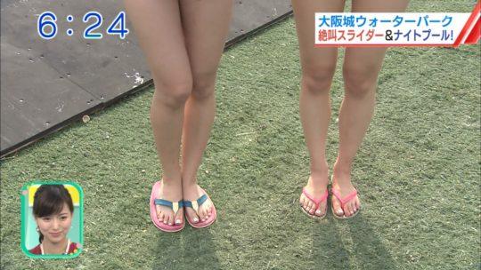 【喰い込み過ぎ】大阪ABCテレビ、早朝6時台からウォータースライダー特集でマンスジまる見え放送事故wwwwwwwwwwww(画像多数)・3枚目