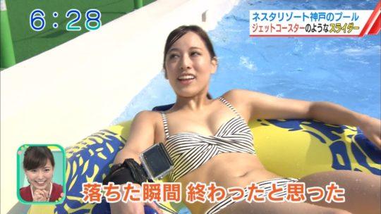 【喰い込み過ぎ】大阪ABCテレビ、早朝6時台からウォータースライダー特集でマンスジまる見え放送事故wwwwwwwwwwww(画像多数)・47枚目