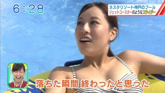 【喰い込み過ぎ】大阪ABCテレビ、早朝6時台からウォータースライダー特集でマンスジまる見え放送事故wwwwwwwwwwww(画像多数)・48枚目