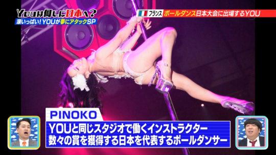 【筋肉エロス】YOUは何しに日本へ?フランスから来た美人ポールダンサーの大開脚がチンコウェルカム状態でワロタwwwwwww(画像多数)・5枚目