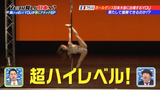 【筋肉エロス】YOUは何しに日本へ?フランスから来た美人ポールダンサーの大開脚がチンコウェルカム状態でワロタwwwwwww(画像多数)・32枚目