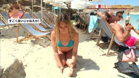 【巨尻美女】世界さまぁ~リゾートinマルタ、カメラマンが完全にこの美女の巨尻ロックオンしててワロタwwwwwwwwwwww(画像、GIFあり)・6枚目