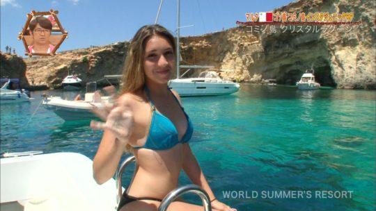 【巨尻美女】世界さまぁ~リゾートinマルタ、カメラマンが完全にこの美女の巨尻ロックオンしててワロタwwwwwwwwwwww(画像、GIFあり)・10枚目
