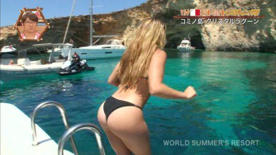 【巨尻美女】世界さまぁ~リゾートinマルタ、カメラマンが完全にこの美女の巨尻ロックオンしててワロタwwwwwwwwwwww(画像、GIFあり)・11枚目