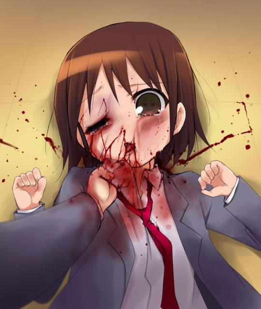 【※暴力注意】ワイ将ドS、ボコボコに殴られて痣だらけになってる二次で過去最高の勃起度を記録wwwwwwwwww(画像あり)・20枚目