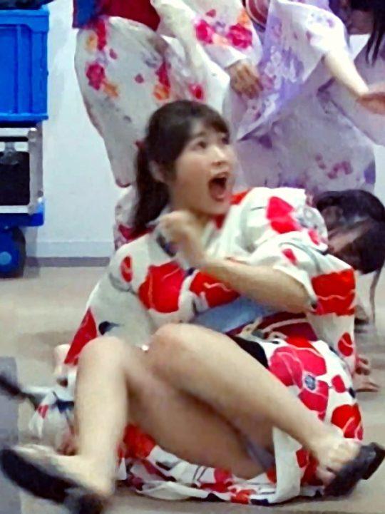 【悲報】フジテレビのドッキリ番組でNMB48渋谷凪咲のナプキン丸見え放送事故wwwソフィーワロタwwwwwwwwwwwwwwwwww(画像あり)・5枚目