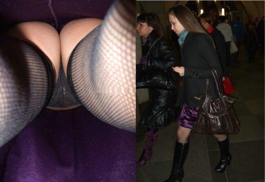 【容赦なし】本場ガチ系盗撮上級者ニキ、超至近距離からスカートの中を撮った挙句顔まで撮ってセットで晒す敏腕鬼畜っぷりに草wwwwwwwwwww(画像あり)・7枚目