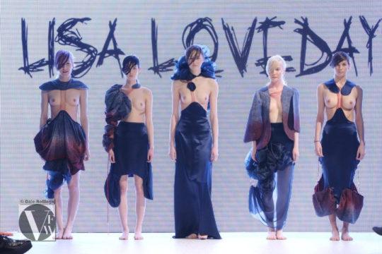 【ノーガード】海外ファッションショーとかいう乳首鑑賞会、日本と違い過ぎワロタwwwwwwwww(画像、GIFあり)・4枚目