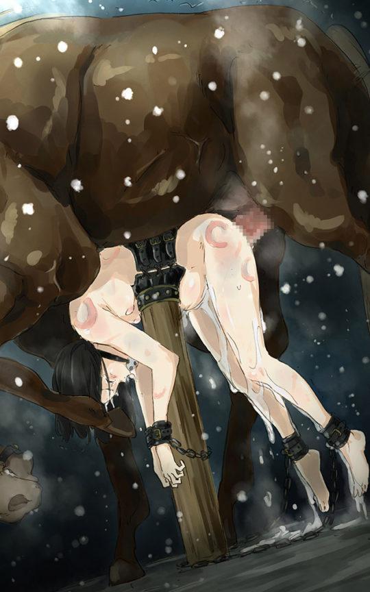 【ヒヒーン】馬とセクロスしたらやっぱ死ぬの???(画像あり)・9枚目