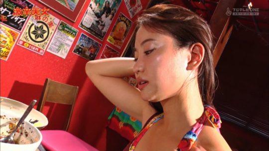 【有能企画】AKB48の元メンバー永尾まりや、激辛美女で汗だくビキニおっぱいキタ━━━━(゚∀゚)━━━━!!(画像大量)・46枚目