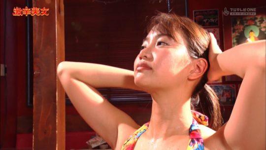【有能企画】AKB48の元メンバー永尾まりや、激辛美女で汗だくビキニおっぱいキタ━━━━(゚∀゚)━━━━!!(画像大量)・60枚目