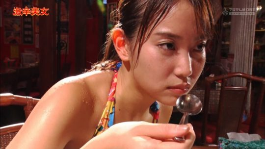 【有能企画】AKB48の元メンバー永尾まりや、激辛美女で汗だくビキニおっぱいキタ━━━━(゚∀゚)━━━━!!(画像大量)・77枚目