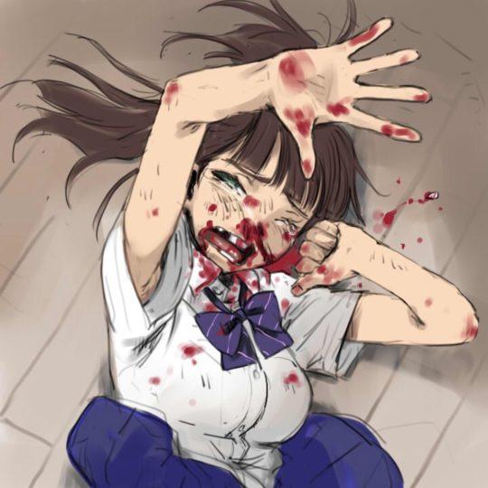 【殴打エロ画像】ワイ将軽リョナ好き、切断系はさすがにキツいんで殴打系リョナでお茶を濁す。(画像30枚)・21枚目