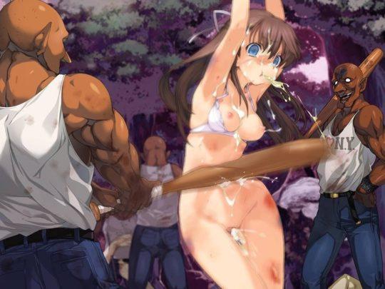 【殴打エロ画像】ワイ将軽リョナ好き、切断系はさすがにキツいんで殴打系リョナでお茶を濁す。(画像30枚)・30枚目
