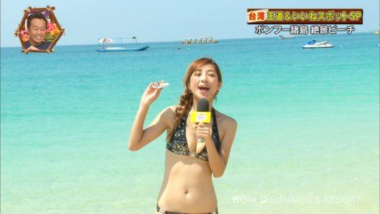 【キャプエロ画像】世界さまぁ~リゾートin台湾、恒例の砂浜チェックであざと過ぎる台湾美女ワロタwwwwwwww(画像あり)・19枚目