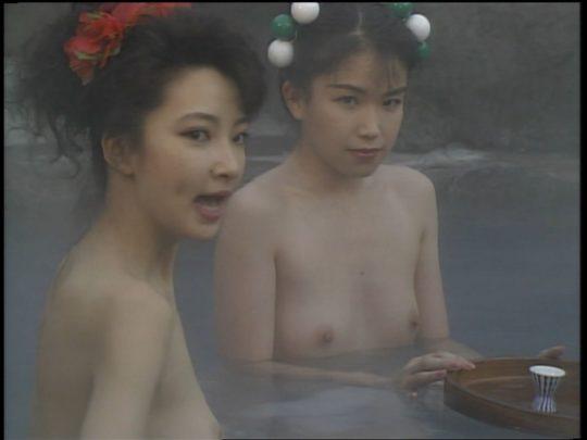 【温泉エロ】昔のドラマ。おっぱい丸出し女が若すぎて若干引くwwww(118枚)・116枚目