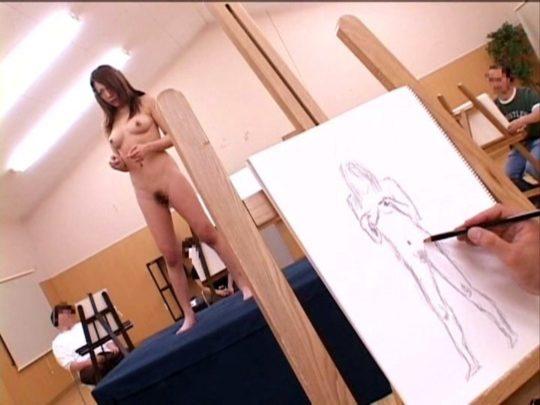 「ヌードデッサンモデル時給15000円!?めっちゃええやん!」 ←結果wwwwwwwwwwwwww(画像25枚)・17枚目