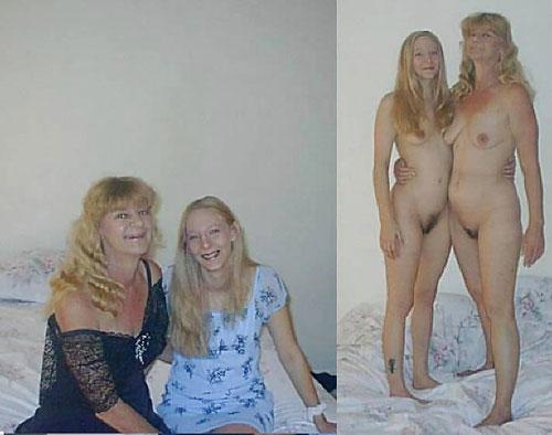 【母娘エロ画像】海外の裸族一家&母娘ヌード、こいつ等ガチで頭おかしくて草wwwwwwww(画像130枚)・84枚目