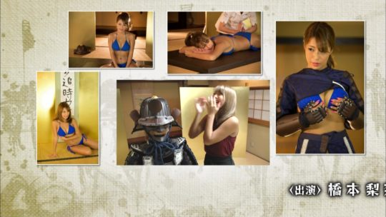 【キャプあり】鎧美女とかいう鎧を着た美女が脱いでマッサージしてエロ書道するTV企画迷走しすぎだろこれwwwww・46枚目