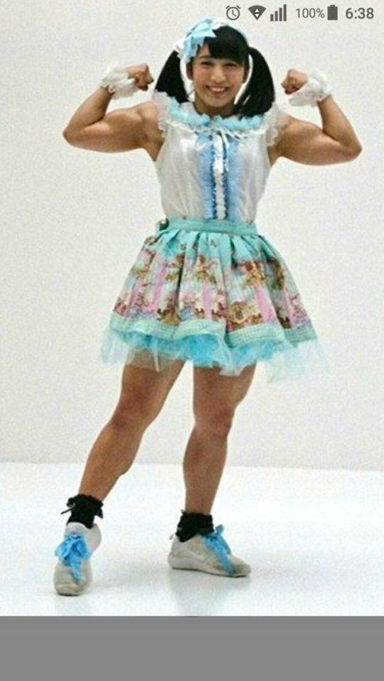 【画像】筋肉マニアのワイ将がお勧めぐうシコ筋肉女子で打線組んだwwwwwwwww(画像あり)・4枚目