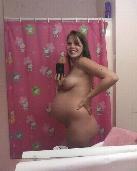 【妊婦エロ画像】意識高い系妊婦「妊娠したでマタニティヌード撮ったろ」カス旦那「SNSでうpしたろ!」コレwwwww(画像25枚)・7枚目
