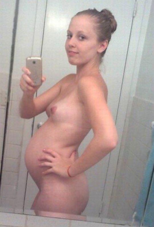 【妊婦エロ画像】意識高い系妊婦「妊娠したでマタニティヌード撮ったろ」カス旦那「SNSでうpしたろ!」コレwwwww(画像25枚)・8枚目