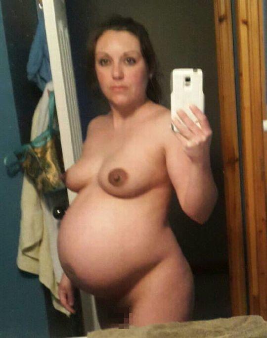 【妊婦エロ画像】意識高い系妊婦「妊娠したでマタニティヌード撮ったろ」カス旦那「SNSでうpしたろ!」コレwwwww(画像25枚)・15枚目