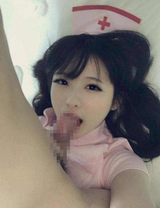 """【コスプレイヤーエロ画像】プライベートのハメ撮りまで流出しまくりな中国人コスプレイヤー""""习呆呆""""、これはジャアアアップですわwwwwwwwwww(画像30枚)・23枚目"""