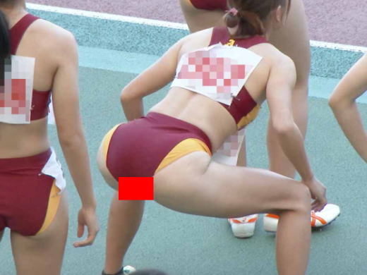 【画像】陸上女子JKさん、おまんこクパァwwwwwwwwwwwwwwwwwwww