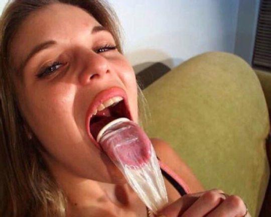 【グロ注意】デキる女の使用済みコンドームの有効利用法がコチラwwwwwwww(画像あり)・9枚目