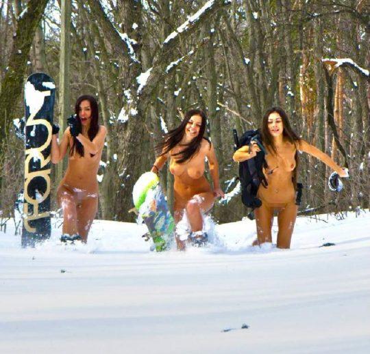 【凍傷不可避】冬季オリンピックに期待度大のエロ画像貼ってくwwwwwwww(画像30枚)・5枚目